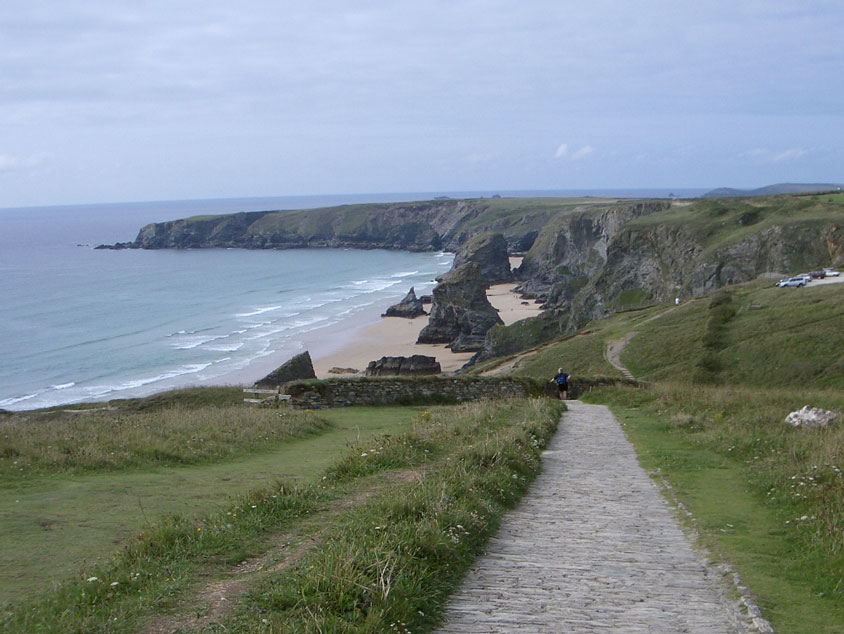 Bedruthan Steps Path