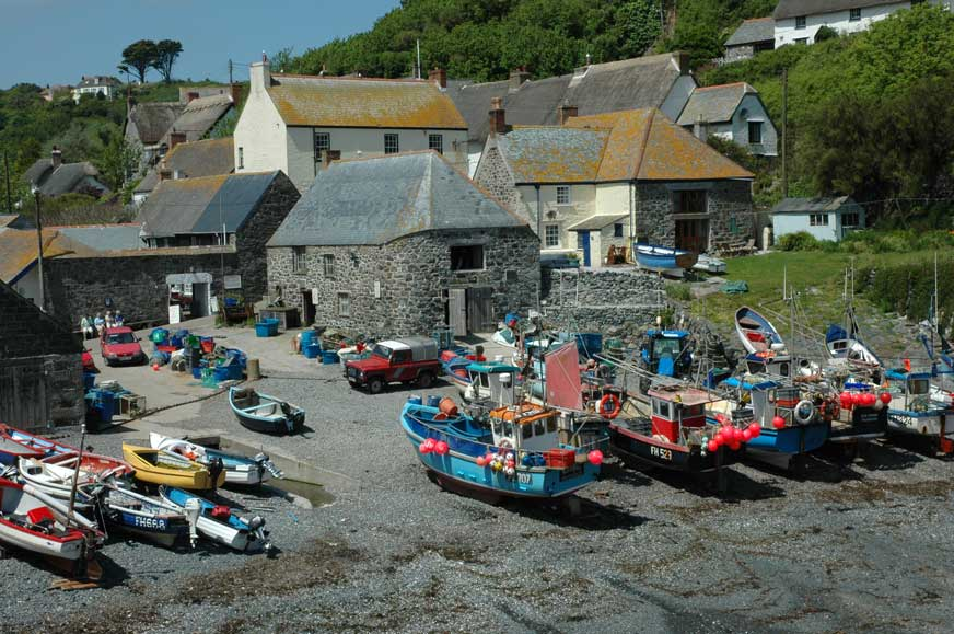 cadgwith-harbour