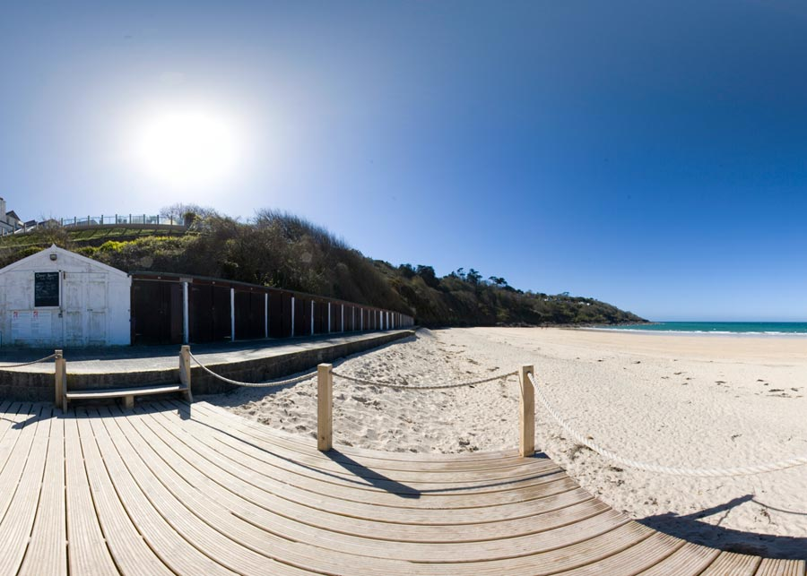 Carbis Bay beach huts
