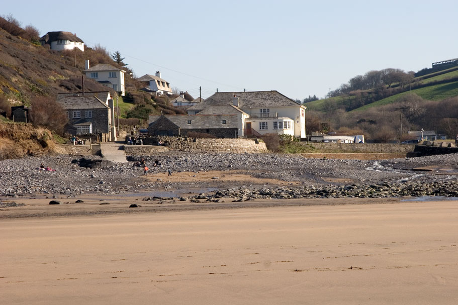 Crackington Haven Village
