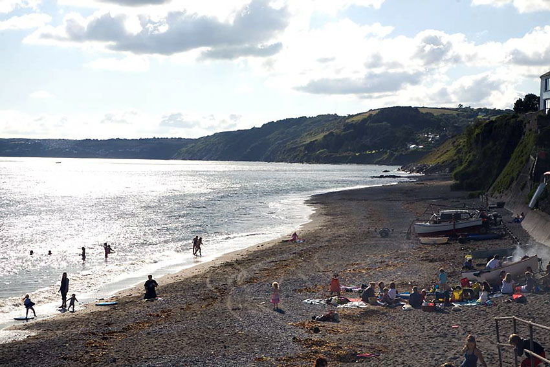 Downderry Beach - South East Cornwall, Cornwall Beaches