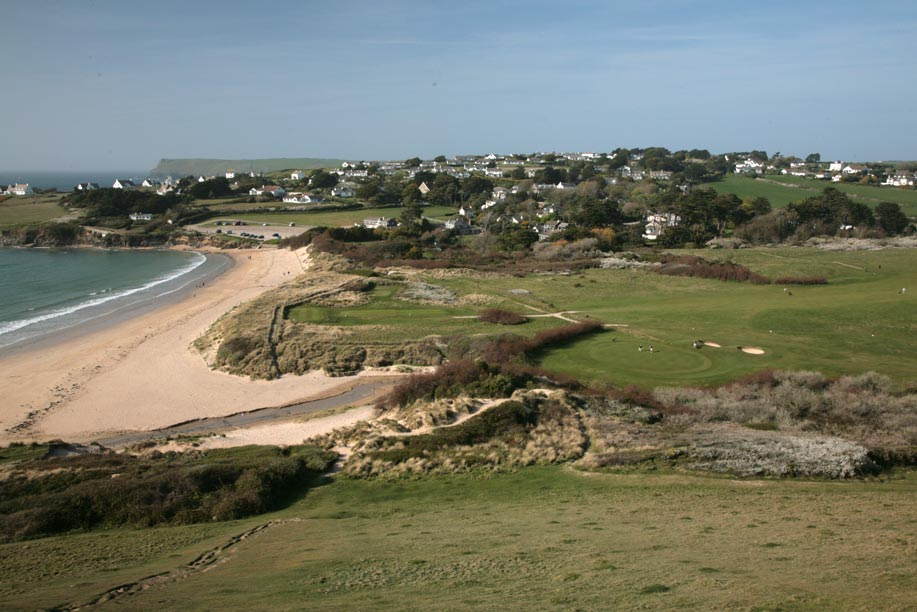 Daymer Bay Beach and Golf