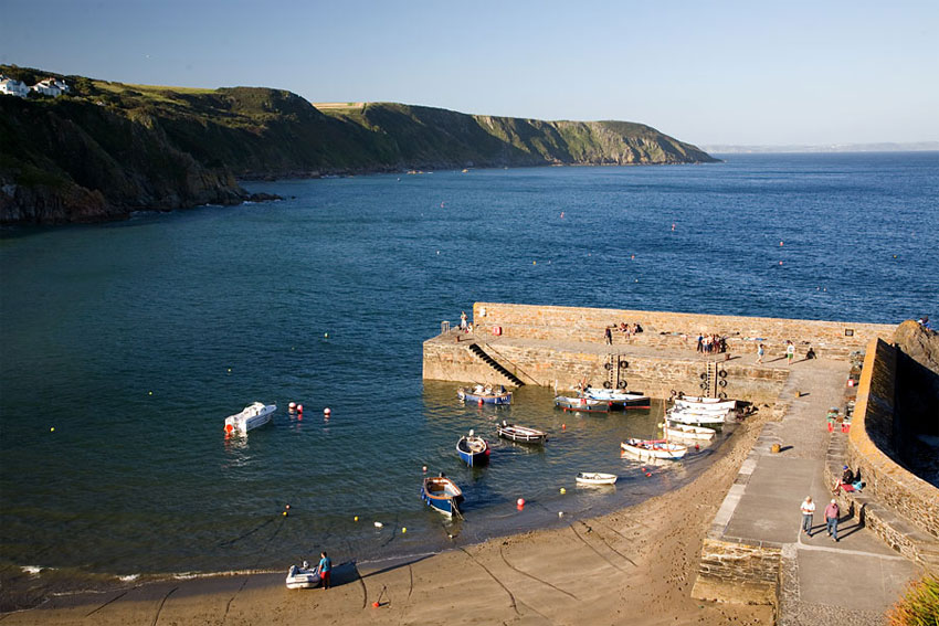Gorran Haven Beach and Harbour