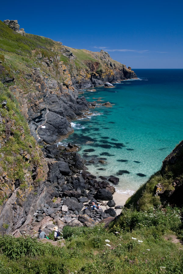 Housel Bay The Lizard And Falmouth Cornwall Beaches