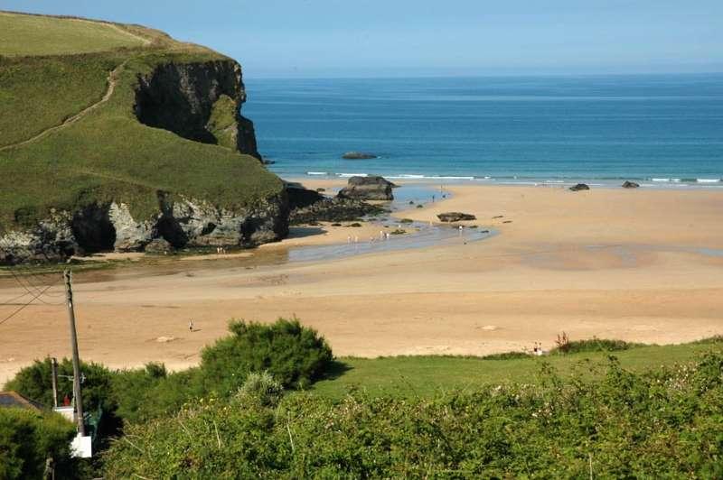 Mawgan Porth Beach North Cornish Coast Cornwall Beaches