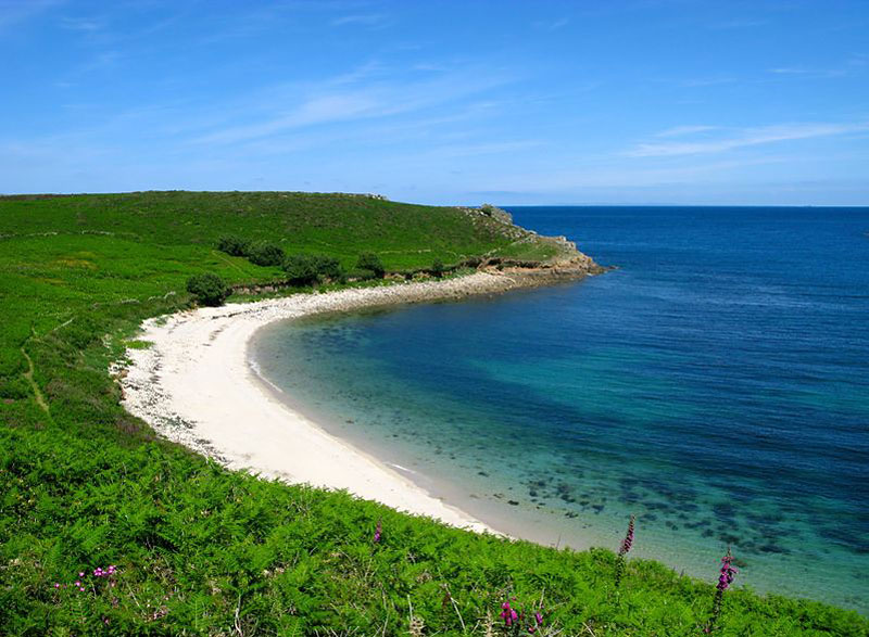 Perpitch Beach Isles Of Scilly Cornwall Beaches