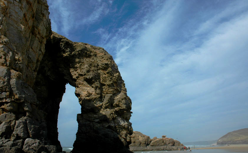 Perranporth Beach Arch