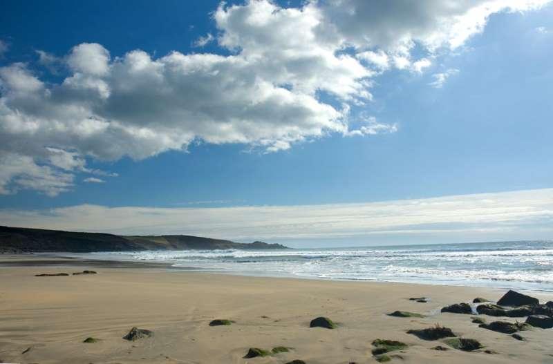 Perranuthnoe Beach Perran Sands West Cornwall