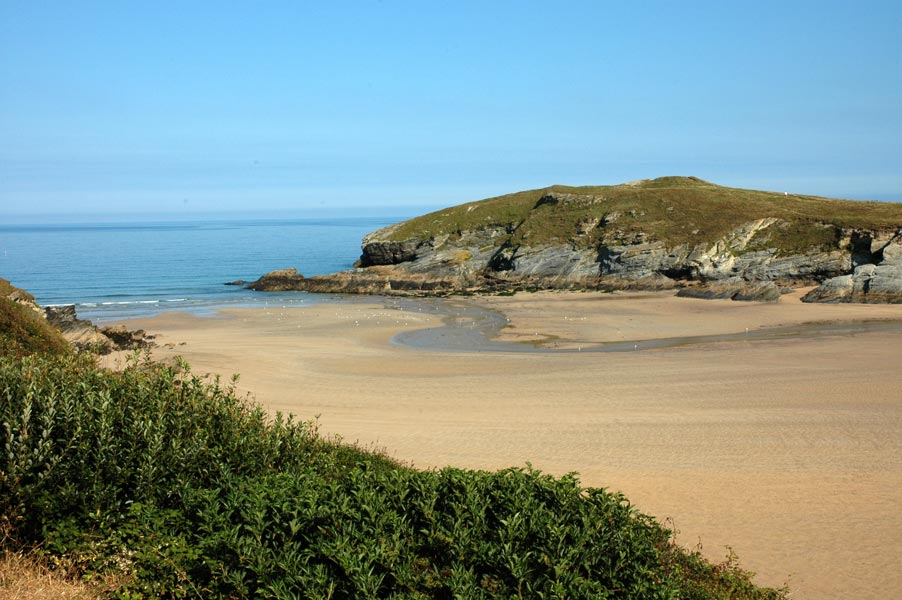 Trevelgue Head - Porth Beach