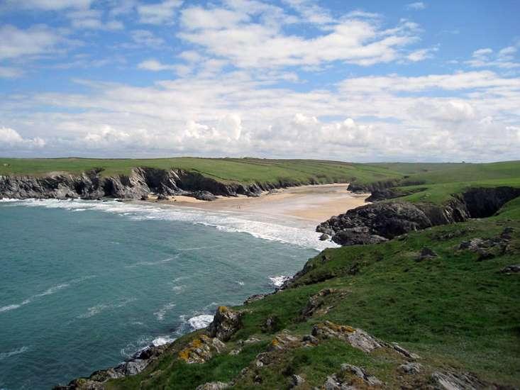 Porth Joke Beach Polly Joke North Cornish Coast Cornwall Beaches