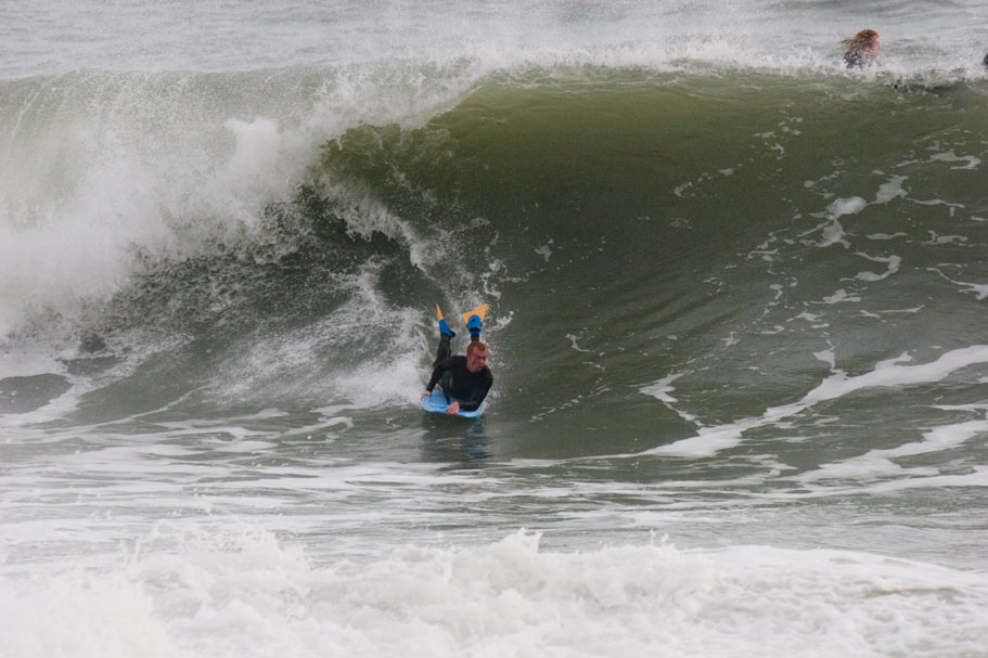 Praa Sands bodyboarder