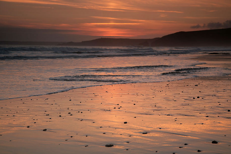 Praa Sands Sunset