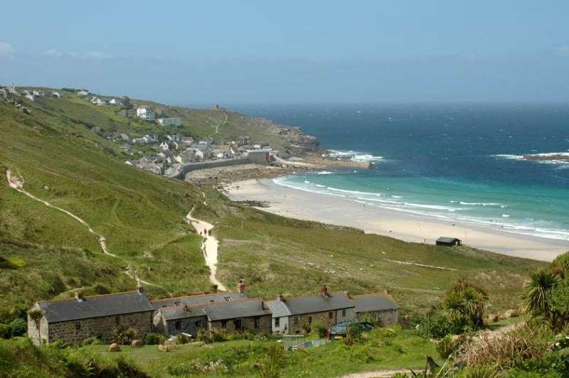 Sennen Beach Whitesands Bay West Cornwall Cornwall Beaches