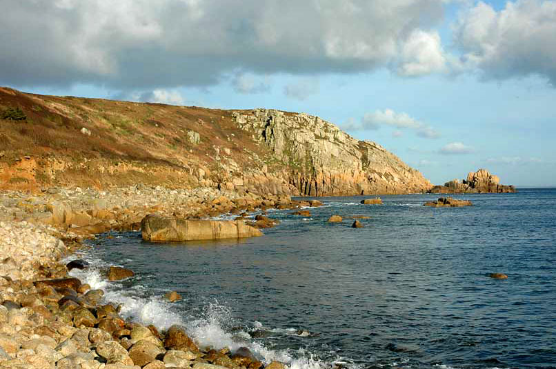 Beaches Between St Ives And Sennon Cove