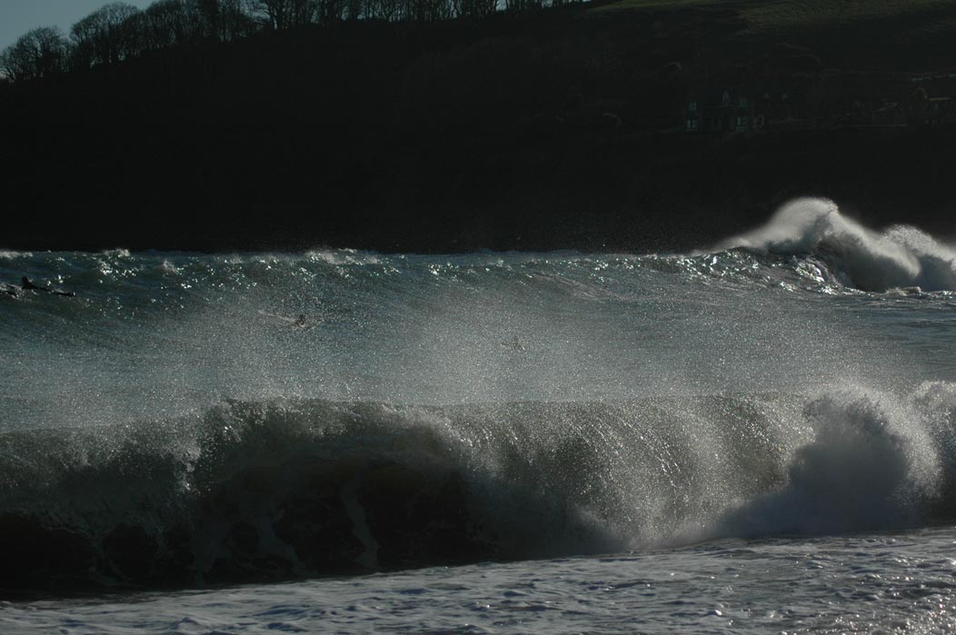 Swanpool shorebreak