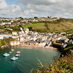 Port Isaac harbour beach