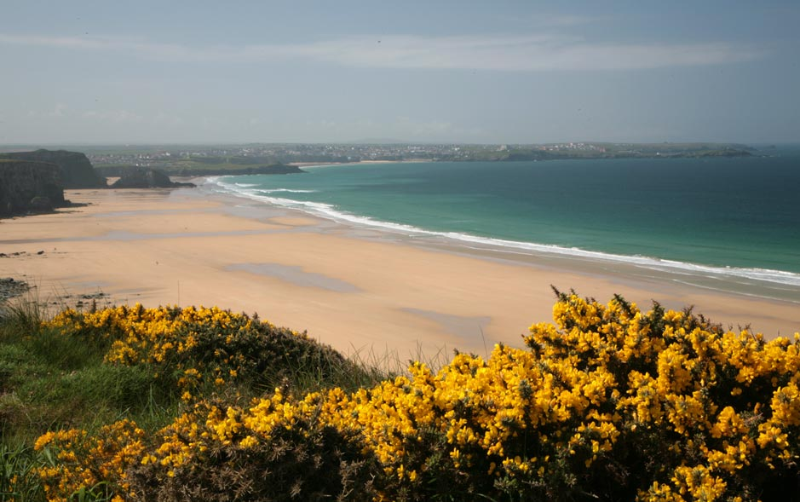 Watergate Bay Tregurrian North Cornish Coast Cornwall Beaches