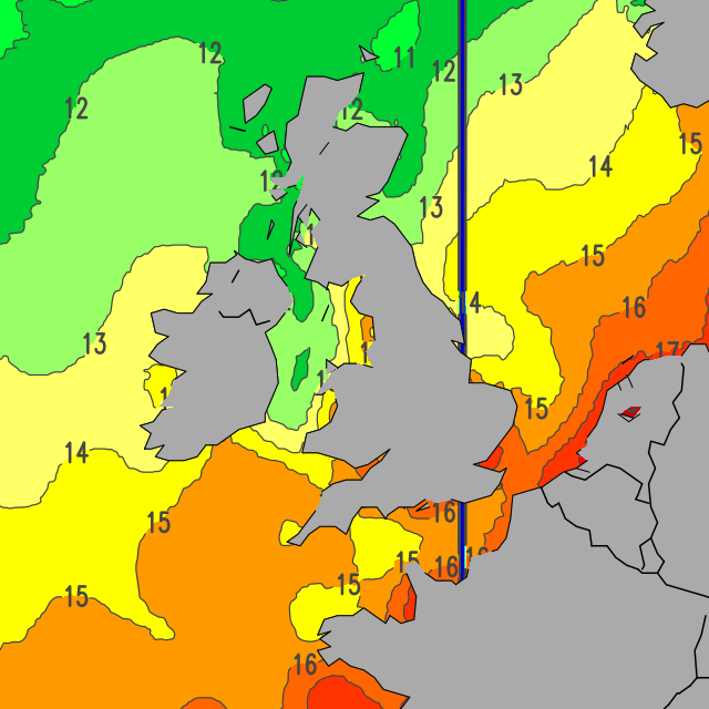 Sea Water Temperature In Cornwall 81
